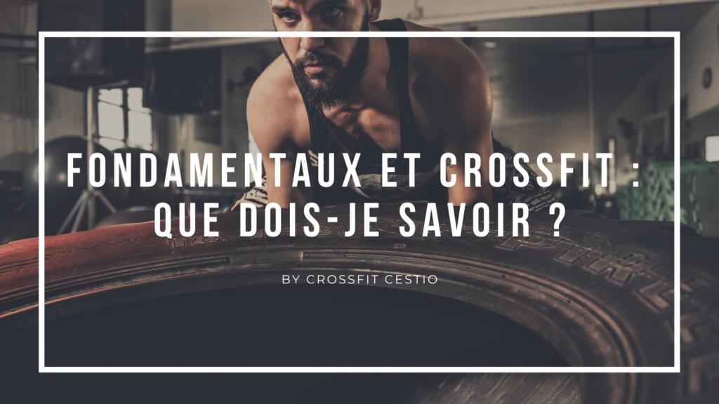 fondamentaux - Crossfit Cestio